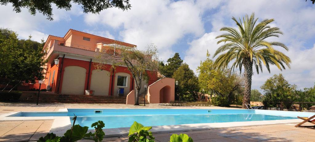 Hotel Fuile e Mare vista piscina