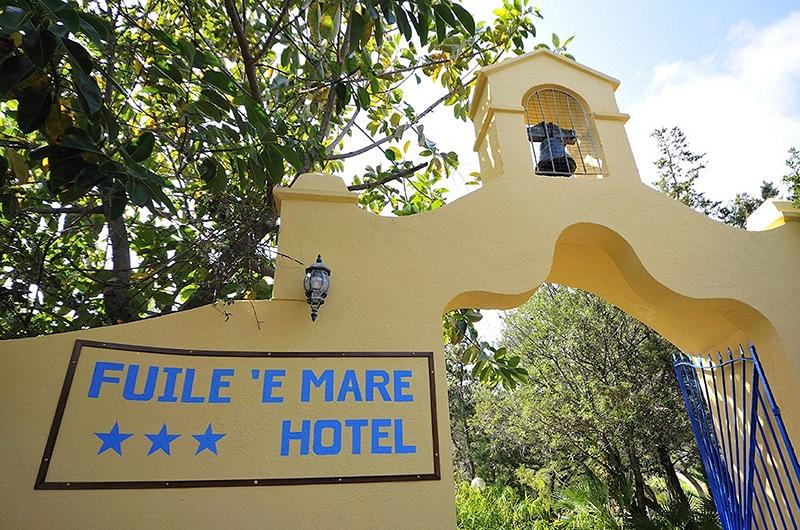 ingresso hotel fuile e mare